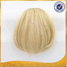 Wholesale cheap top quality synthetic hair pieces the bang thing