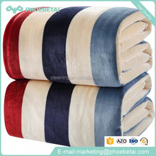 Factory price cheap best promotion custom knit coral fleece throw blanket