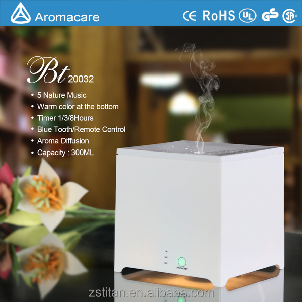 Music Aroma LED lamp mini effective air humidifier