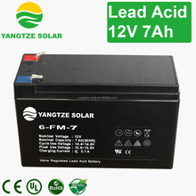 Free shipping 12v 7ah sealed lead acid battery