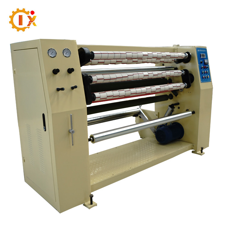 GL--210 Professional manufacturer offer opp plastic cutter / scotch tape making machine / adhesive tape slitting machine