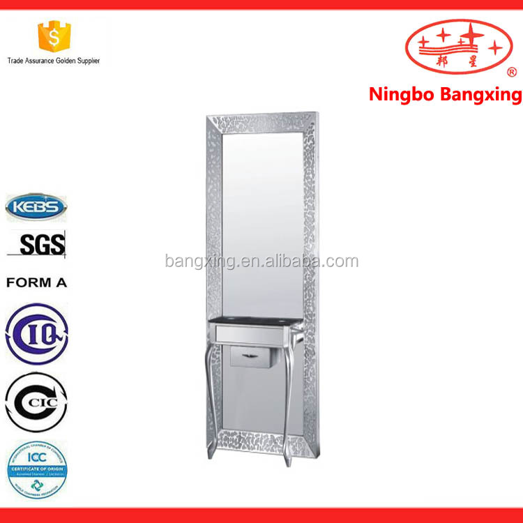 List manufacturers of salon mirrors barber shop mirrors for Beauty salon mirrors with lights