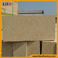 SK Series 50% 60% 70% 80% High Alumina Refractory Brick for Copper Aluminum Melting Induction Furnace
