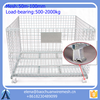 Wholesale high quality folding storage cage with wheels from Baochuan