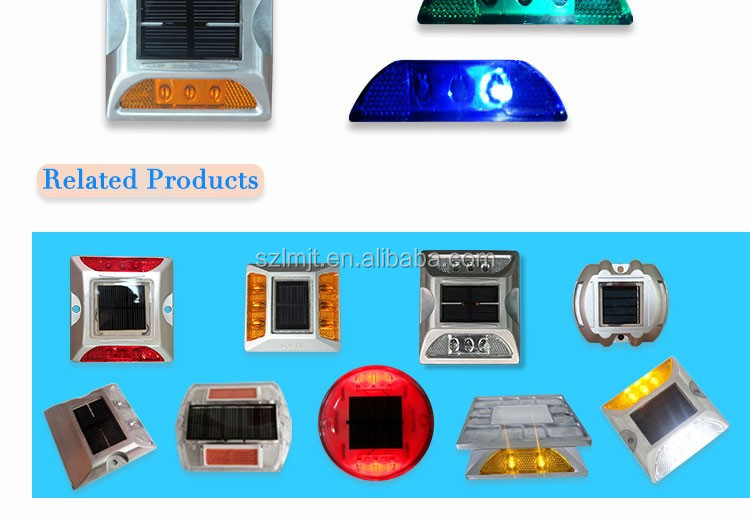 Traffic Safety Best Warning Effects Solar LED Road Stud