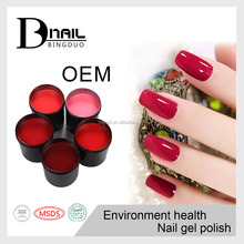 high quality and competitive price three step soak off cracked uv nail gel polish for beauty salon