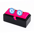 Cufflink packing box whosale for one pair cuffflinks display box