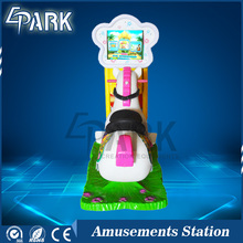 Hot selling 3d mini simulator horse kids riding racing arcade game machine