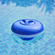 Automatic floating chlorine floater tablet holder chemical dispenser for swimming pool