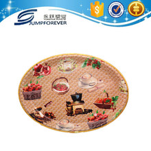 High quality plastic cake decorations plate