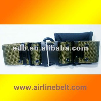 Top classic military grade nylon web belts with fist aid pouch