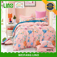 Best sale elegant colorful wholesale cotton indian style bedding sets/victorian style bedding sets