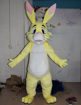 adult easter rabbit mascot costume rabbit head costume