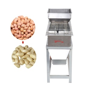 best selling red skin removing machine/peanut peeling machine price/wet peanut bean soybean almond peeling machine