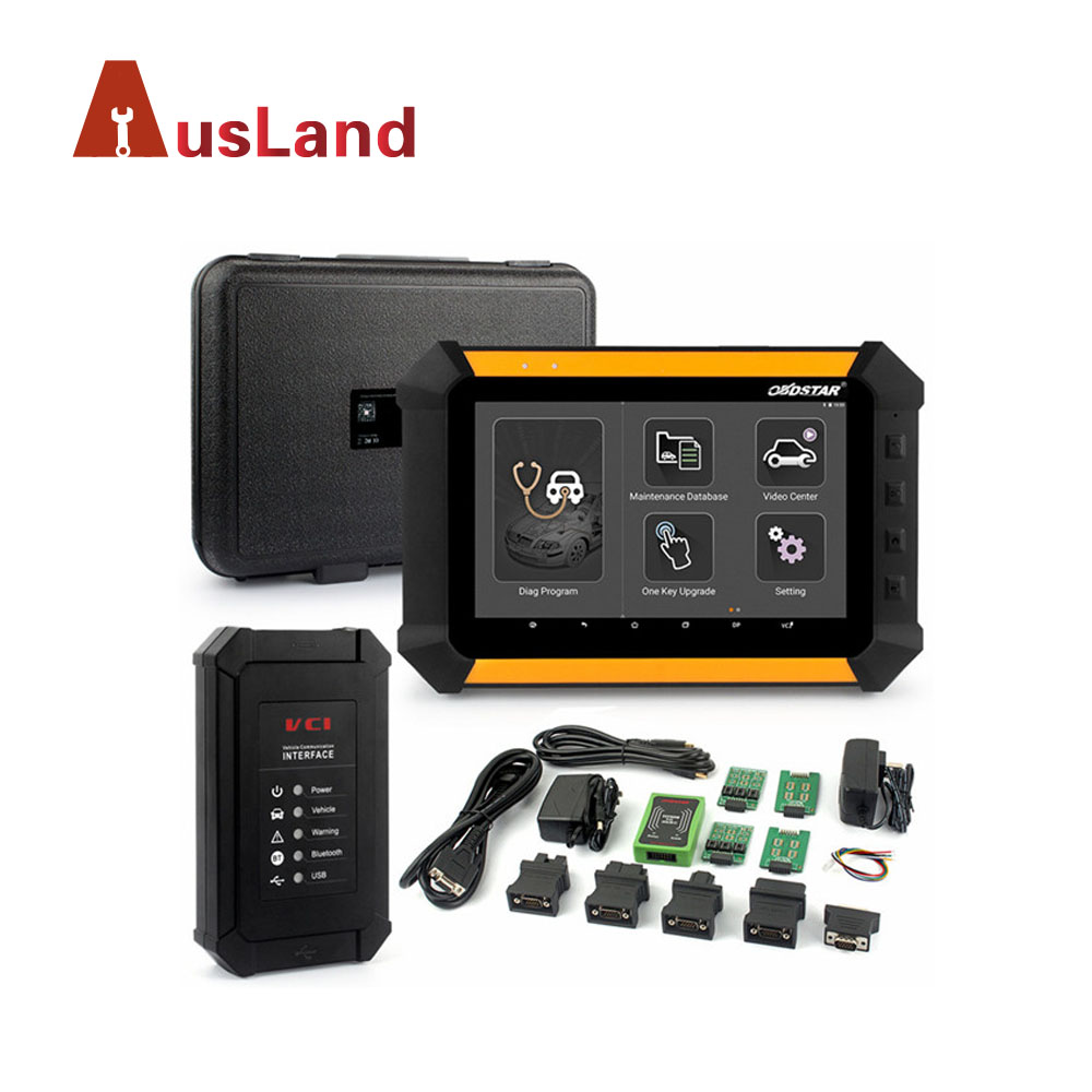 OBDSTAR X300 DP PAD Tablet Car Auto Key Programmer + EEPROM Adapter Immobilizer Change Mileage Odometer OBD2 Car Diagnostic Tool