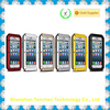 2015 big promotional hot selling aluminum metal waterproof case for iphone 5c waterproof shockproof dustproof