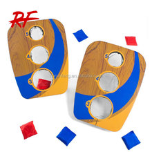wooden custom bean bag toss game,cornhole boards,folding cornhole game