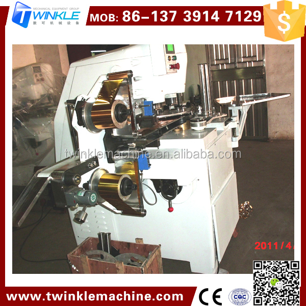 TKA521 COIN CHOCOLATE WRAPPING MACHINE