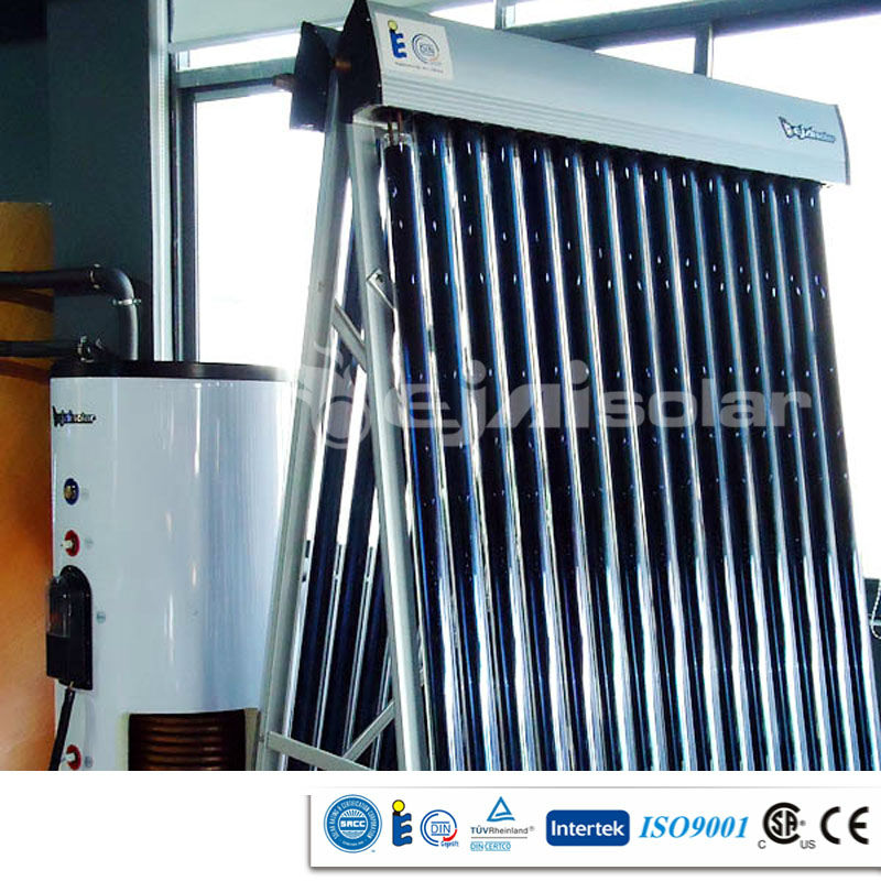 Vertical Solar Water Heater Collector for Wall-mounted