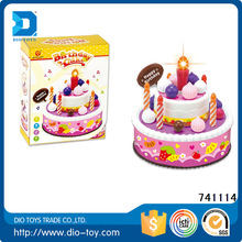 creativity set for kid toy birthday cake