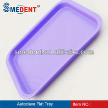 Dental Instrument Dental Autoclavable Plastic Instrument Tray