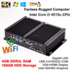 Hotsale Micro PC 4G RAM 160G HDD Mini industrial computer Host Intel Core i3 4010u HTPC Case HD 4k TV/Game desktop Gigabit Lan