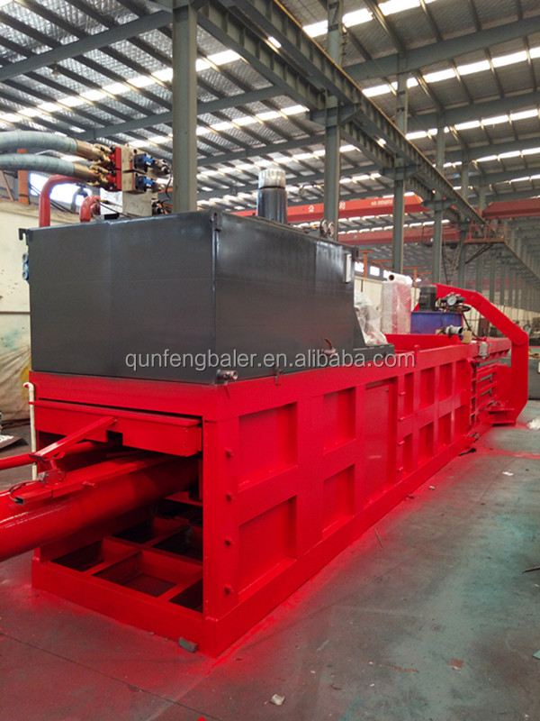 hydraulic baler <strong>machine</strong> for used clothes/waste paper/scrap cardboard