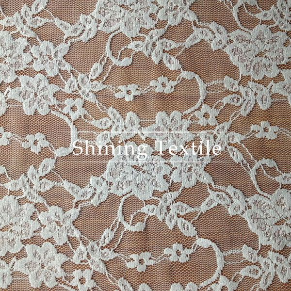 Low MOQ Stretch Crochet Lace Fabric For Garment