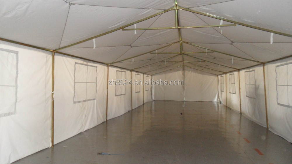 large military white canvas or oxford tent for Africa