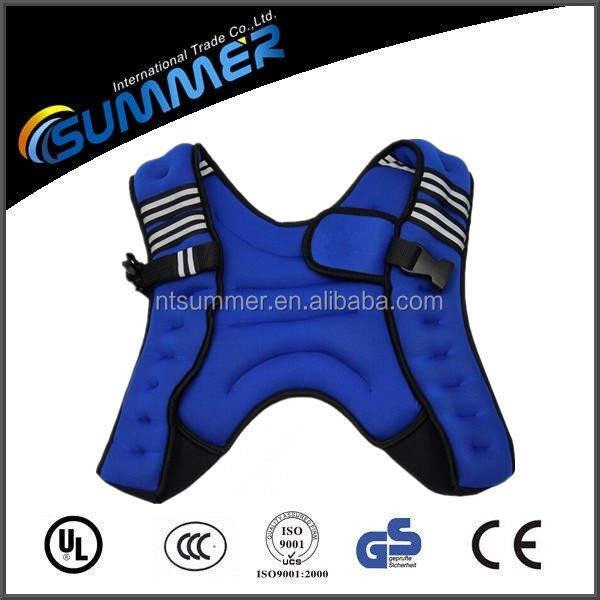 Competitive price OEM logo weighted training vest