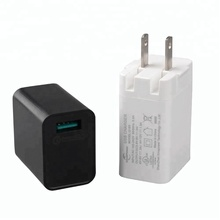 Level VI USB wall charger with UL/CUL GS CE SAA FCC ROHS CB SAA C-tick BIS