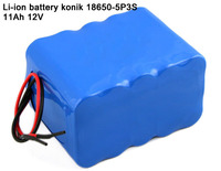 Customized 18650 lithium ion rechargeable battery pack 12v DC li-ion battery for Solar Power System/LED Panel Light