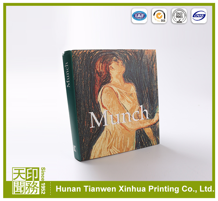 Soft Cover photo Book Printing 4 color offset printing press
