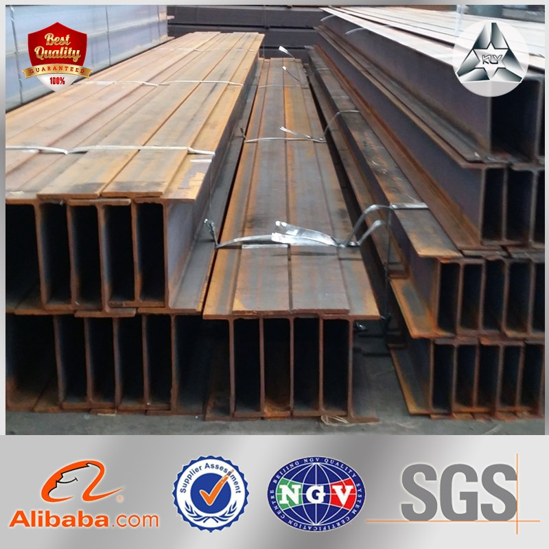 Building Construction Materials Q235 Steel Beam Welded Steel Beam Metal Steel H Beam