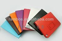 9.7 inch Tablet Smart Cover Stand PU Leather Case for iPad 5