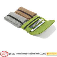 Alibaba Express Free Sample Hot Selling Felt Mobile Phone Bags&Case made in China