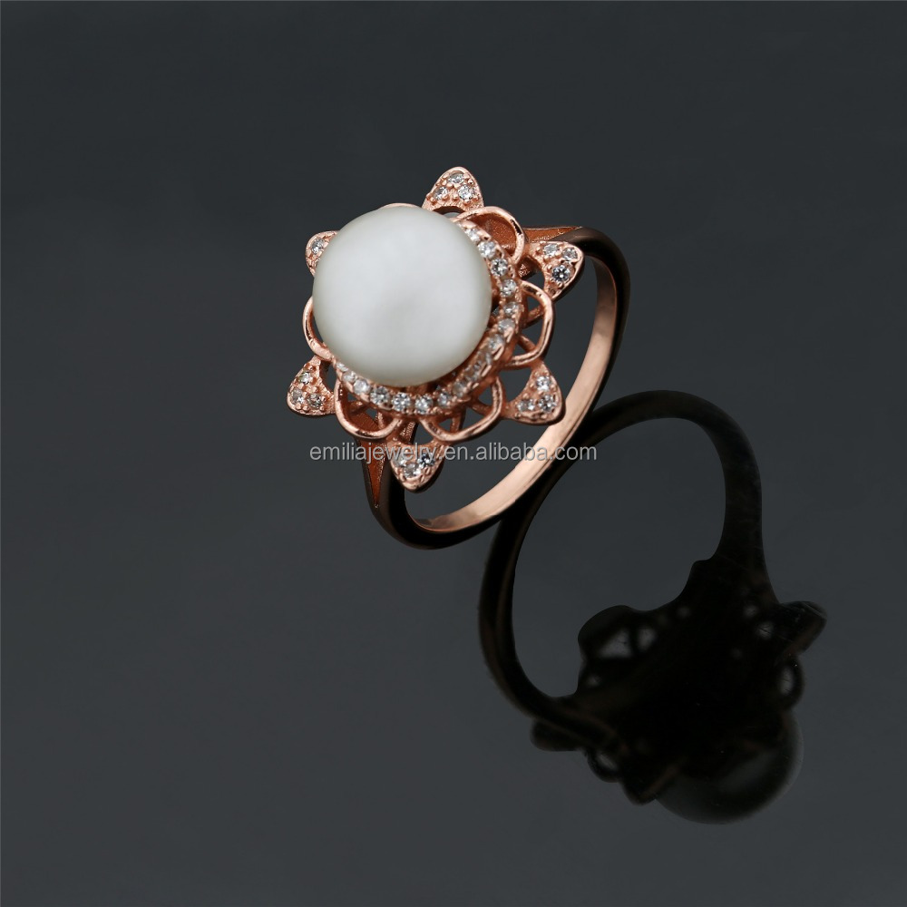 latest gold pearl ring designs for women pearl ring designs,new design freshwater pearl finger ring