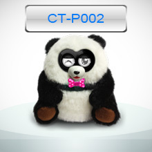Best Christmas gift Interactive plush elf toy panda toys