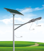 IP66 CE ROHS approved 30w 50w 60w with solar panel, solar controller battery solar power street light