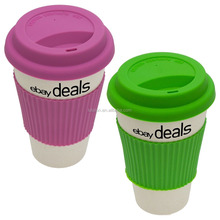 FDA,LFGB,SGS Certification and Disposable Feature plastic coffee cups mugs with lid