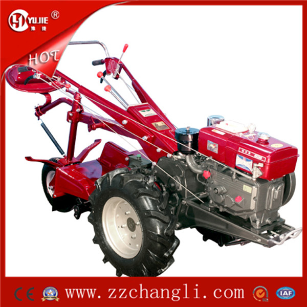 New type of multi-functional portable diesel walk behind tractor