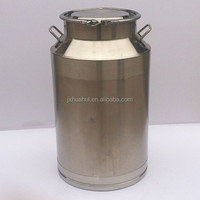 With clamp stainless steel milk vessel wine barrel milk container SKKG-2