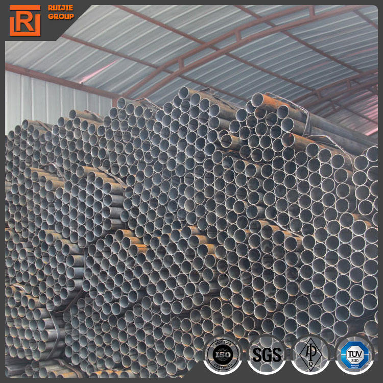 Building material erw carbon steel pipe, carbon schedule 40 carbon erw steel pipe