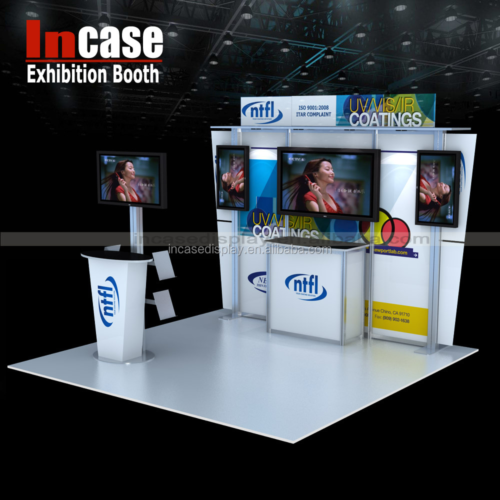 Custom Exhibition Stand Price : Incase custom trade show display exhibition stand booth