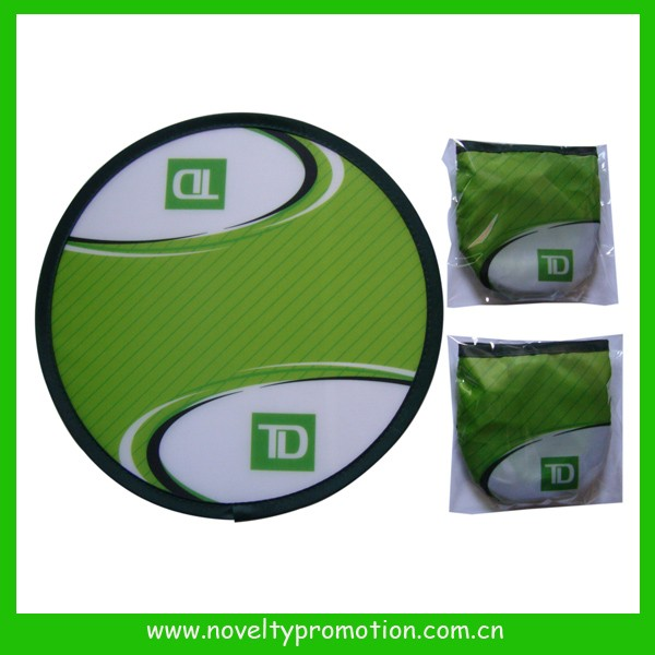 Custom Printed Polyester Folding Frisbee