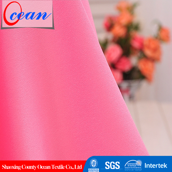 Ocean Textile Wholesale Woven 100% Polyester CDC Fabric