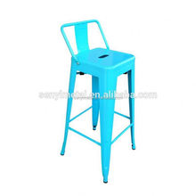 Metal Bar Stools Cheap Kitchen Restaurant Wholesale Stackable Metal Bar Stool High Chair
