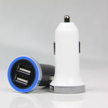 Hot selling 2.4A dual usb mobile phone car charger for for iphone 5 car charger