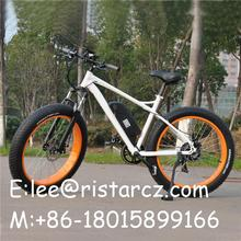 Hot selling machine grade e-cycle shanghai 7 speed mountain/mtb fat tire ebike