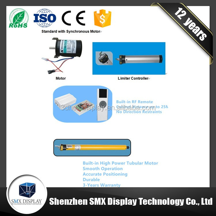 China manufacturer sales competitive price customized remote electric projection screen